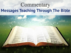 Commentary Through The Bible